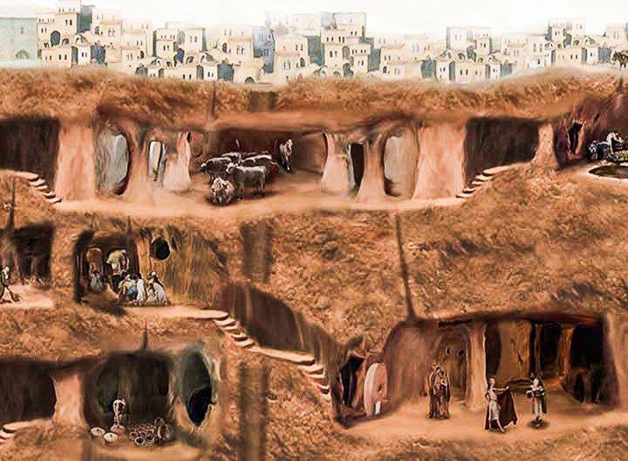 Cappadocia-Undergraund-City