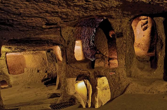 kaymakli-undergraund-city